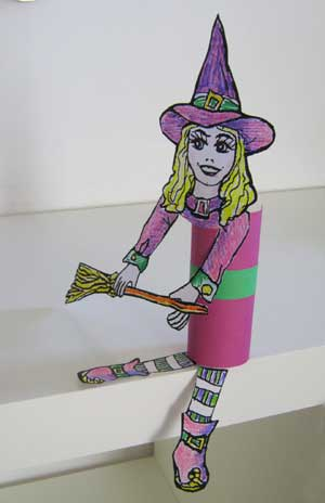 Witch TP Roll Craft