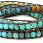 luu chan wrap bracelet turquoise
