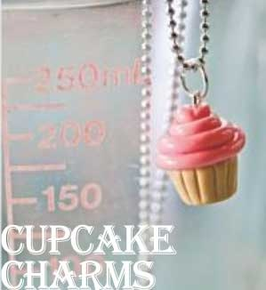 Summer crafts for kids - DIY Cupcake Charms