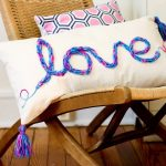 finger knitting projects decorative pillows