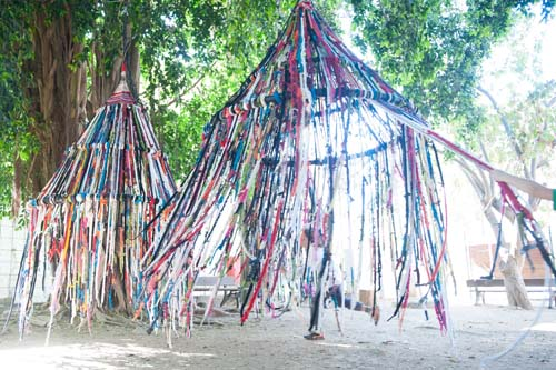 finger knitting projects garden tent