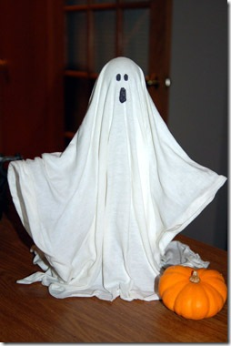 halloween ghost fabric stiffener