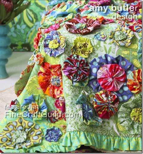 Amy Butler yoyo quilt pattern