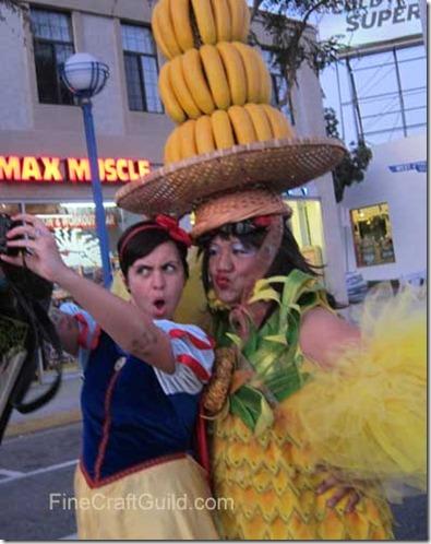 Halloween hollywood Banana costume