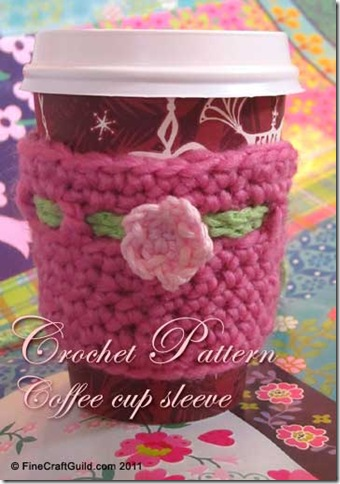 Crochet Pattern :: Adorable Coffee Cup Sleeves
