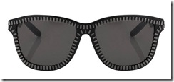alexander wang linda farrow glasses zippers