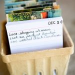 DIY Postcard Journal / Calendar