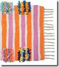 Handmade Mats - Handmade Ruffle Rug