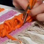 Handmade Ruffle Rugs