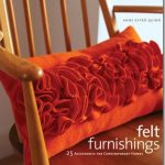 Felt Ruffle Rosette Pillow Pattern