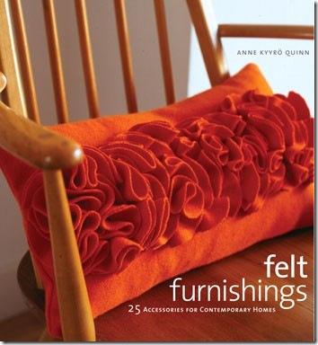 Felt Ruffle Rosette Pillow Pattern