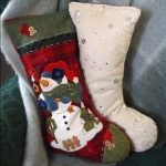 Christmas Stocking as Holiday Pillow
