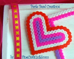 perle beads heart