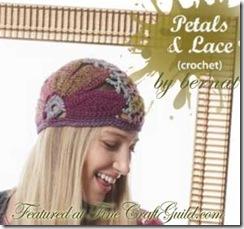 petals lace hat :: free crochet pattern :: FineCraftGuild.com