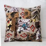 Wild, Scrappy, Quilted Decorative Pillows