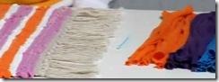 Handmade Mats - Handmade Ruffle Rug  - base needle