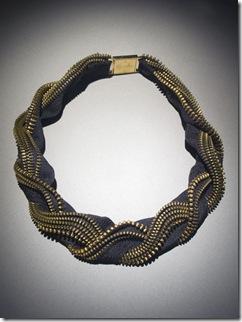 zipper jewelry :: designer necklace