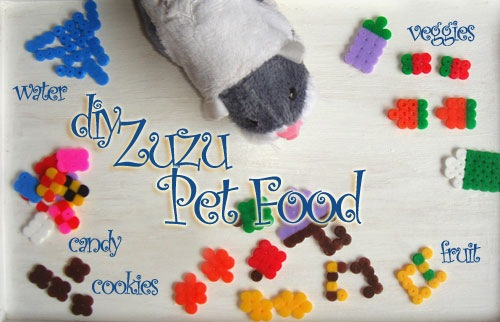 DIY ZhuZhu Pet Food
