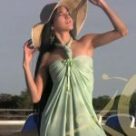 Summer Dresses: :: Green Maxi Dress Sewing Video Tutorial