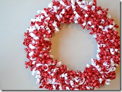grosgrain ribbon wreaths