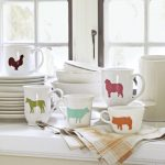 DIY Animal Stencil Mugs