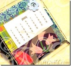cd cover calendar 2012