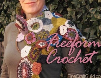Kaleidoscope Crochet Scarf