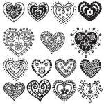 Gorgeous Hearts :: Free Printables
