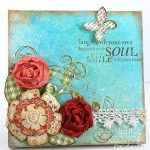 Scrapbooking Canvas Art (Pinterest Fave)