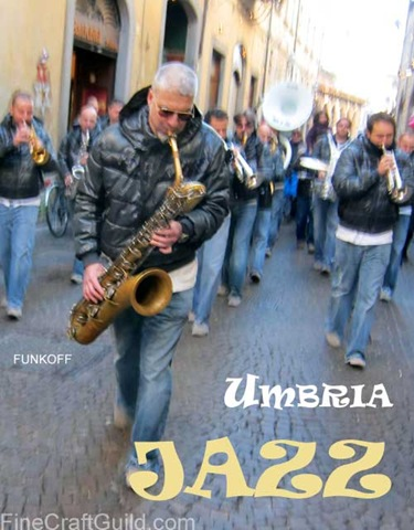 Best Dinnerware at Orvieto's New Year Umbria Jazz Festival