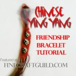 ying yang friendship bracelets