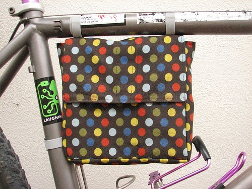 Bike Lunch Bag Sewing Pattern