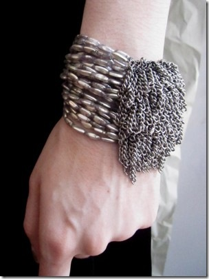 DIY Designer Pearl Cuff Bracelet
