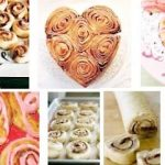 Delicious Valentine Heart Rolls for Breakfast