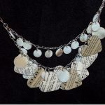 paper hearts necklace