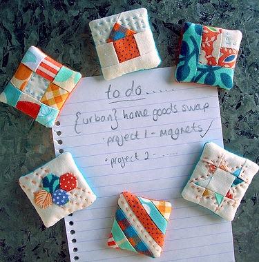 quilt magnet pattern