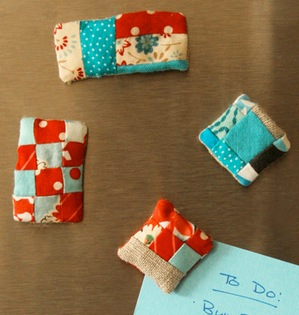 quilted fridge magnets patterns