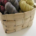 recycled paper basket - image designsponse