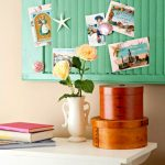 Recycled Shutters as Pin Boards