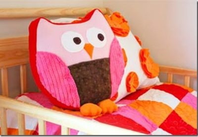 Decorative Pillows – Owl Sewing Tutorial