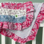Ruffled Quilted Baby Blankets (Tutorial)