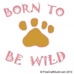 baby fabric paint template