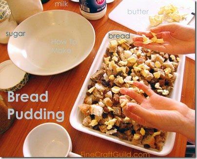 bread pudding howto