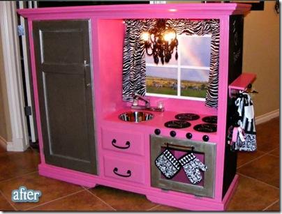play kitchen - diy kids furniture