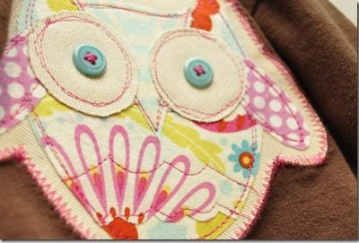 A Cool Owl Applique Pattern Jazzes it up!