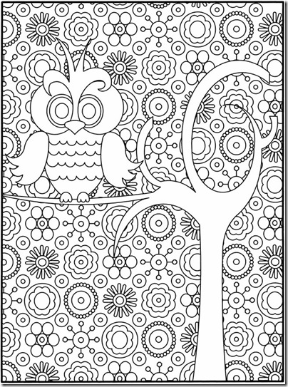 free owl coloring page, difficult coloring pages