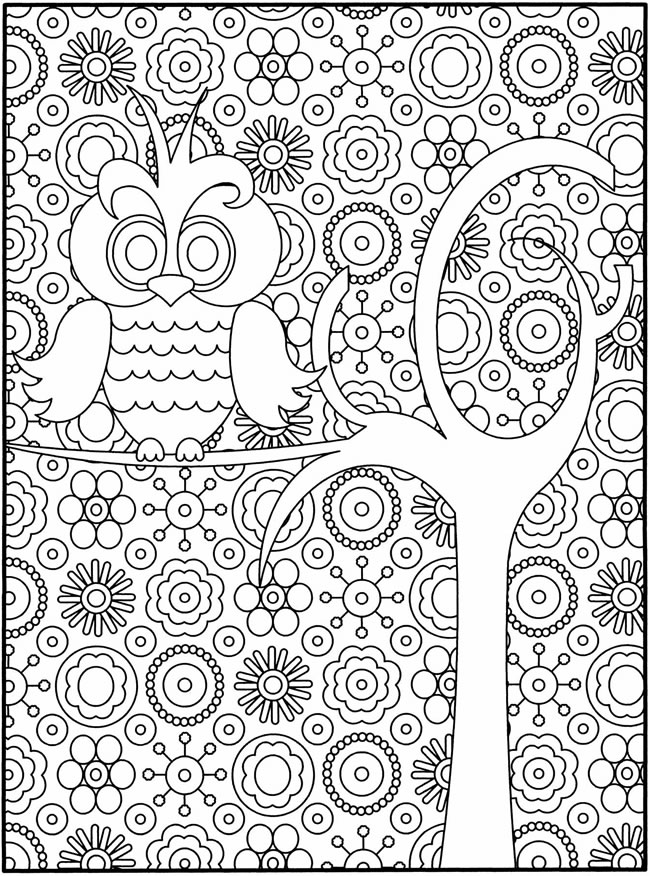 difficult coloring pages - Fine Craft Guild - 1