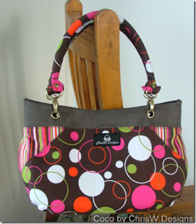 Happy Spring :: Hand Bag :: Free Sewing Pattern