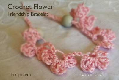 Darling Crochet Edging Friendship Bracelet