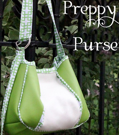 Preppy Pleaded Purse Bag Pattern